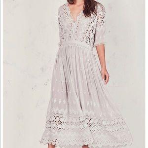 LOVESHACKFANCY Delfina Dress NWT size 4